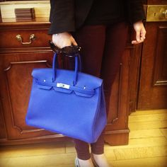 Electric Blue Birkin Obsession. on Pinterest   Electric Blue ...