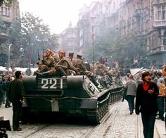 Prague Spring in Czechoslovakia Prague Spring, Visit Prague, Prague Cz, Soviet Army, Tank I, Fairytale Castle, Army Soldier, Vietnam War, Street Artists