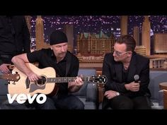 music to knit by - U2 - Ordinary Love (Live on The Tonight Show) - YouTube