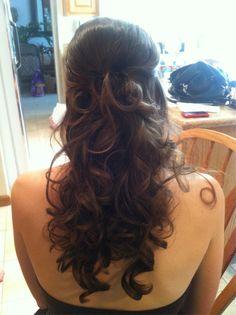 Pretty long hair do