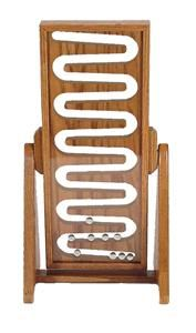 Wooden Marble Roller Flip