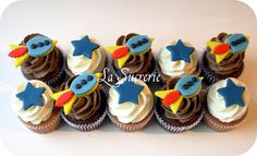 Rocket Cupcakes