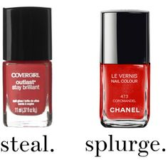 The $4 gel mani: CoverGirl Outlast Stay Brilliant Nail Gloss