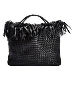 4) This season s bag is a fringe fest - Bottega Veneta Handbag Accessories 33d0dbfda4ca7