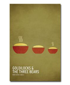 Take a look at this 'Goldilocks and the Three Bears' Canvas Art by Christian Jackson on #zulily today!