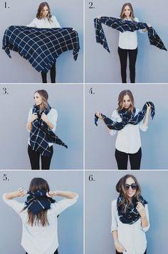 女生冬日必備的溫暖圍巾!4個時尚綁法打造潮流感 - BessUp - Girls 女生事