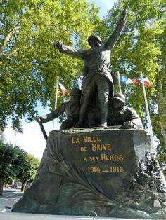 Monument aux morts – Brive-la-Gaillarde, Limousin