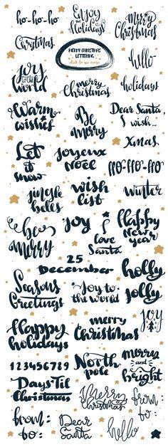 Happy Christmas holidays by Alyonka_lis on @creativemarket