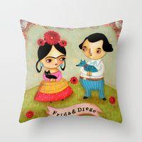 Throw Pillows by Tascha | Society6