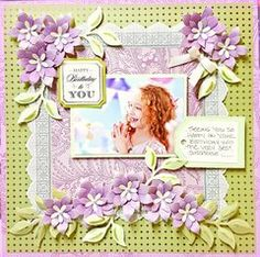 I would like to share a few pages that I created for Anna's last HSN show, which aired July I had so much fun with some of these new it. Scrapbook Examples, Scrapbook Layout Sketches, Scrapbook Designs, Scrapbooking Layouts, Heritage Scrapbooking, Card Sketches, Friend Scrapbook, Baby Girl Scrapbook, Birthday Scrapbook