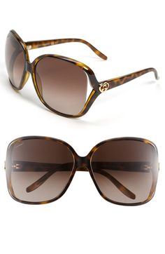 Love Gucci glasses! The new heart logo is too cute and will match my wallet :)! Next pair of sunglasses :)