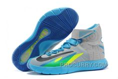 free shipping 3180d 5eb62 Nike Zoom Hyperrev KYRIE IRVING Grey Vivid Blue-Game Royal-Black For Sale  Cheap