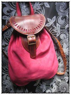 Leather Backpack Sporran Scottish - Mochila Sporran escocés de cuero