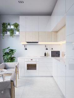 22 Gorgeous Modern Scandinavian Kitchen Ideas