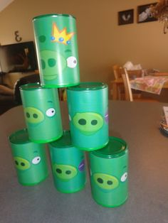 Games at an Angry Birds Party #angrybirds #partygames
