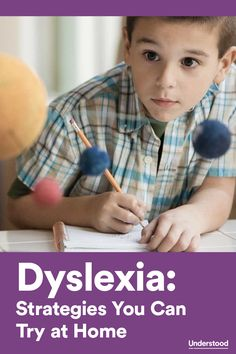 At-home strategies for helping your child with #dyslexia