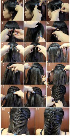 #Mermaid #French #Braid #Hairstyle