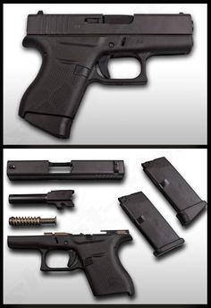 Glock 43 Gen 3 Pistole im Kaliber 9mm Luger