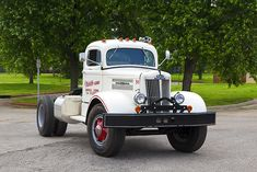 Mack Trucks, Toy Trucks, Fire Trucks, Semi Trucks, Truck Flatbeds, Train Truck, Truck Art, White Tractor, White Truck