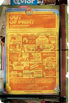 Watch Out Of Print. A documentary about the New Beverly Cinema