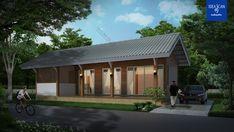 แบบบ้านชั้นเดียว แบบบ้านโมเดิร์น แบบบ้านรีสอร์ท แบบสร้างบ้าน + BOQ ใช้กู้ธนาคาร ขออนุญาตก่อสร้าง | DataBKK.com Tropical Style, Outdoor Decor, Home Decor, Decoration Home, Room Decor, Home Interior Design, Home Decoration, Interior Design