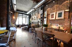 Ops Cafe in Karakoy, Istanbul | Photo by Elif Savari Kızıl Rustic and Friendly