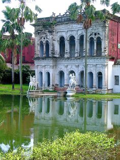 Folk art museum in Sonargaon, Bangladesh. Would be a great place to go to learn about the culture.