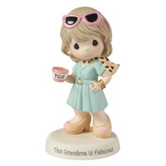 Let's hear it for all of the fabulous grandmas! Sporting stylish shades and a fashionable outfit, this grandma has got it together as she heads out to visit a precious grandchild. She is perfect for a