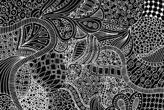 variety-the use of several elements of design to hold the viewer's attention and guide the viewer's eye through the artwork. This piece uses variety because the lines lead you through the piece while presenting  different patterns and designs.