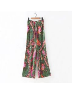 Harem Pants, Pajama Pants, Trousers, New Pant, Wide Leg Pants, Tie Dye Skirt, Floral Prints, Zipper, Female