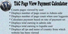 This Deals TAC Page View Payment Calculator today price drop and special promotion. Get The best buy