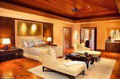 25 Million dollar mansion bedroom