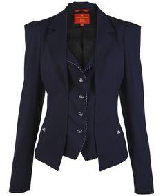 Vivienne Westwood office wear apparel.