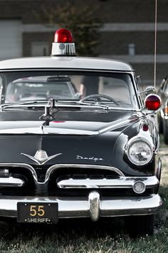 1955 Dodge Sheriff car