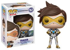 Overwatch: Posh Tracer Pop figure by Funko, Think Geek exclusive Overwatch Tracer, Overwatch Pop Vinyl, Overwatch Pop Figures, Figurines Funko Pop, Funko Pop Figures, Pop Vinyl Figures, Overwatch Figurine, Overwatch Merchandise, Toys
