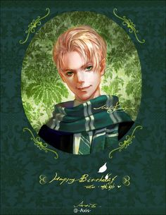 Draco Malfoy, illustrated by Azukiri