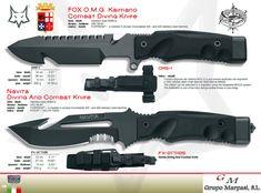 OMG KAIMANO NAVITA CUCHILLOS COMBATE - Fox Military