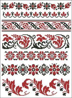 Mini Cross Stitch, Cross Stitch Borders, Modern Cross Stitch, Counted Cross Stitch Patterns, Cross Stitch Designs, Cross Stitching, Cross Stitch Embroidery, Embroidery Patterns, Crochet Patterns