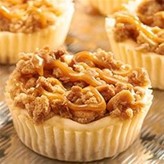 A salty sweet combination of RITZ Crackers and New York-style crumb cheesecake, with RITZ Crackers as the cheesecake crust with RITZ Bits Peanut Butter Sandwich crackers in the crumb topping.