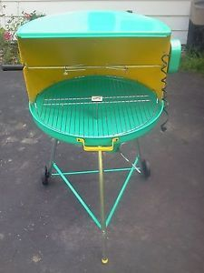 Details about VINTAGE RETRO ATOMIC BBQ GRILL- NEVER USED- AMAZING!!