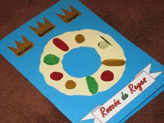 The 2013 Spanish Christmas card. It represents the Roscón de Reyes, the cake that is traditionally eaten in Spain on Jan.