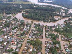 Chuva anômala de maio mata sete fere 120 desabriga 60 mil e afeta 12 milhão no Brasil; E vem muito mais chuva por aí
