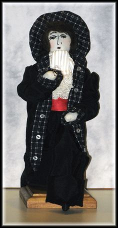 Will You Marry Me, Henri! Art Doll E-Pattern Designed By Linda Walsh