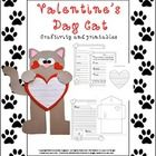 Craftivity Valentines Day Cat