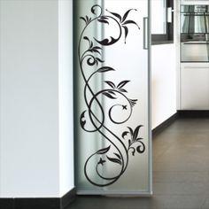 Etched Glass Door, Frosted Glass Door, Room Partition Designs, Glass Partition, Pooja Room Door Design, Wall Design, Window Glass Design, Spiegel Design, Balcony Railing Design
