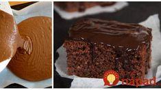 Cuketový koláč na spôsob luxusnej Sacher torty: Kto ochutnal neveril, že tá piškóta je z obyčajnej cukety! Desserts, Basket, Tailgate Desserts, Deserts, Dessert, Food Deserts