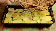 Muszaka recept Zucchini, Beef, Vegetables, Food, Meat, Essen, Vegetable Recipes, Meals, Yemek