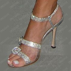 All about Shoes: Manolo Blahnik Silver Sandals – Vanessa Ferlito - Socialbliss Pretty Shoes, Beautiful Shoes, Cute Shoes, Women's Shoes, Me Too Shoes, Golf Shoes, Louboutin Shoes, Platform Shoes, Dance Shoes