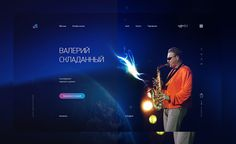 #Featured of the Day 05 Nov 2016 Valeriy Skladannyy Saxophonist by @alexanderuidesi http://www.csslight.com/website/18161/Valeriy-Skladannyy-Saxophonist