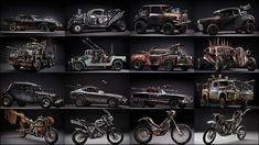 映画で爆破・破壊される前に撮影された「マッドマックス 怒りのデス・ロード」の超美麗な車やバイク - DNA